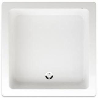 Sprchová vanička čtvercová Teiko Juno 80x80 cm akrylát V134080N32T01001 bílá bílá