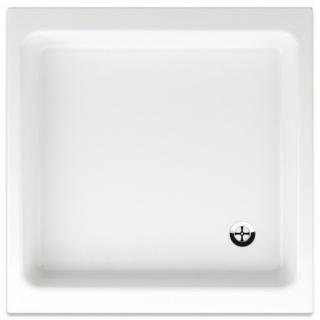 Sprchová vanička čtvercová Teiko Stefani 80x80 cm akrylát V134080N32T02001 bílá bílá