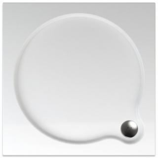 Sprchová vanička čtvercová Teiko Venus 80x80 cm akrylát V134080N32T04001 bílá bílá