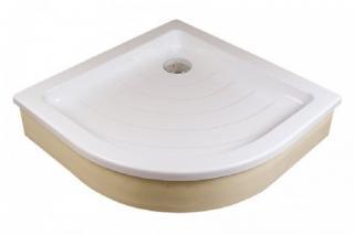 Sprchová vanička čtvrtkruhová Ravak Ronda 90x90 cm akrylát A207001320 bílá bílá