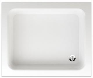 Sprchová vanička obdélníková Teiko Odeon 90x75 cm akrylát V132090N32T02001 bílá bílá