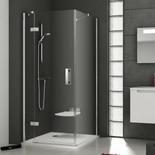 Sprchové dveře 100x190 cm levá Ravak Smartline chrom lesklý 0SLABA00Z1