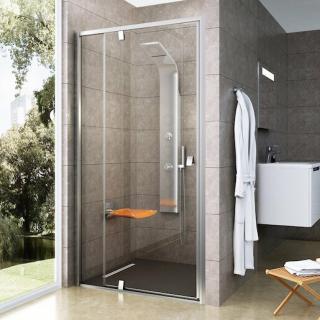 Sprchové dveře 100x190 cm Ravak Pivot chrom matný 03GA0U00Z1 satin