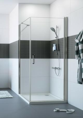 Sprchové dveře 100x200 cm Huppe Classics 2 chrom lesklý C23406.069.322 chrom chrom