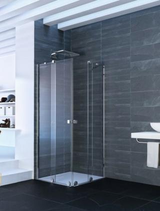 Sprchové dveře 100x200 cm levá Huppe Xtensa pure chrom lesklý XT1304.069.322 chrom chrom