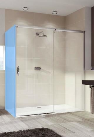 Sprchové dveře 100x200 cm pravá Huppe Aura elegance chrom lesklý 401512.092.322.730 chrom chrom