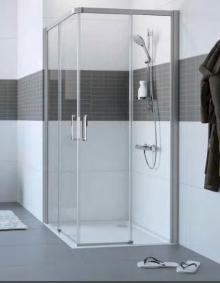 Sprchové dveře 100x200 cm pravá Huppe Classics 2 chrom lesklý C25203.069.322 chrom chrom