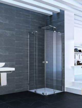 Sprchové dveře 100x200 cm pravá Huppe Xtensa pure chrom lesklý XT1404.069.322 chrom chrom
