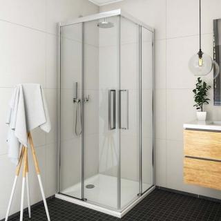 Sprchové dveře 100x205 cm levá Roth Exclusive Line chrom lesklý 560-100000L-00-02 Brillant