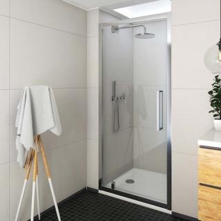 Sprchové dveře 100x205 cm Roth Exclusive Line chrom lesklý 562-1000000-00-02 Brillant