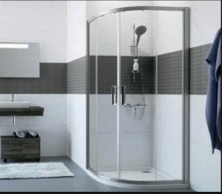 Sprchové dveře 100x80x200 cm Huppe Classics 2 chrom lesklý C20617.069.322 chrom chrom