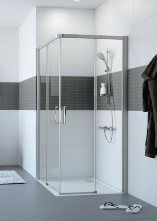 Sprchové dveře 110x110x200 cm Huppe Classics 2 chrom lesklý C25004.069.322 chrom chrom