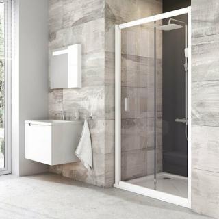 Sprchové dveře 110x190 cm Ravak Blix bílá 0PVD0100Z1