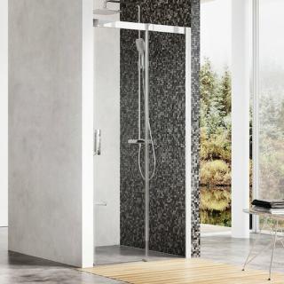 Sprchové dveře 110x195 cm pravá Ravak Matrix chrom lesklý 0WPD0C00Z1