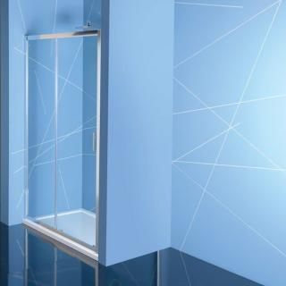 Sprchové dveře 110x200 cm Polysan EASY chrom lesklý EL1115