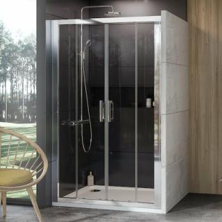 Sprchové dveře 120x190 cm Ravak 10° chrom lesklý 0ZKG0C00Z1