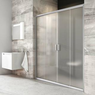 Sprchové dveře 120x190 cm Ravak Blix chrom matný 0YVG0U00ZG satin