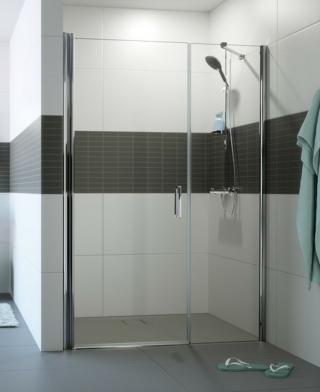 Sprchové dveře 120x200 cm Huppe Classics 2 chrom lesklý C24709.069.322 chrom chrom