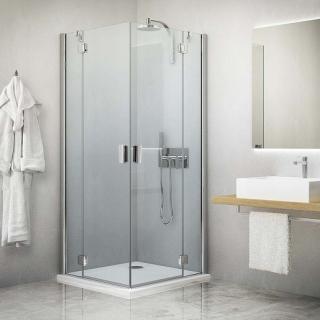 Sprchové dveře 120x201 cm Roth Hitech Line chrom lesklý 284-1200000-06-02 Brillant premium