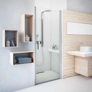 Sprchové dveře 120x201,2 cm Roth Tower Line chrom lesklý 728-1200000-00-02 Brillant