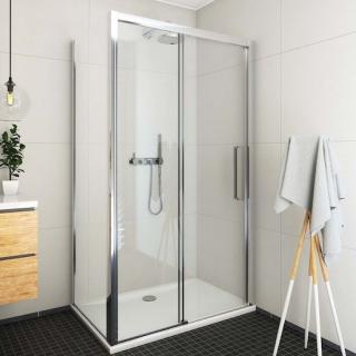 Sprchové dveře 120x205 cm levá Roth Exclusive Line chrom lesklý 564-120000L-00-02 Brillant