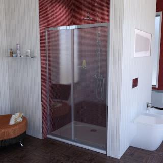 Sprchové dveře 130x200 cm Polysan LUCIS chrom lesklý DL1315