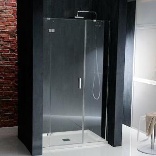 Sprchové dveře 130x200 cm Polysan VITRA chrom lesklý BN4015L