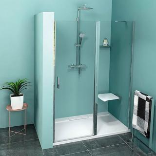 Sprchové dveře 130x200 cm Polysan Zoom chrom lesklý ZL1313