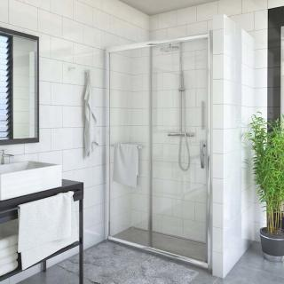 Sprchové dveře 130x200 cm Roth Proxima Line chrom lesklý 526-1300000-00-02 Brillant