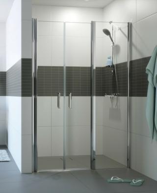 Sprchové dveře 140x200 cm Huppe Classics 2 chrom lesklý C24606.069.322 chrom chrom