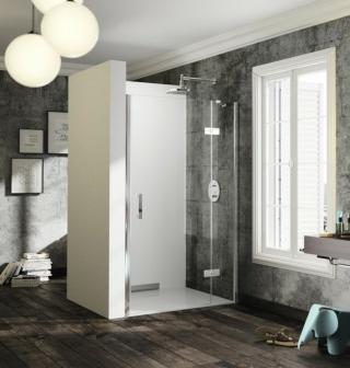Sprchové dveře 140x200 cm pravá Huppe Solva pure chrom lesklý ST0506.092.322 chrom chrom