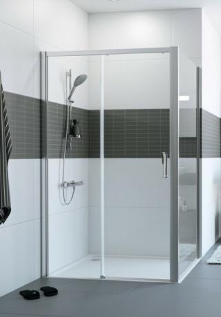 Sprchové dveře 155x200 cm levá Huppe Classics 2 chrom lesklý C25307.069.322 chrom chrom