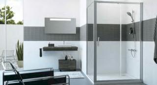 Sprchové dveře 165x200 cm Huppe Classics 2 chrom lesklý C20424.069.322 chrom chrom