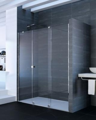 Sprchové dveře 200x200 cm pravá Huppe Xtensa pure chrom lesklý XT1203.069.322 chrom chrom
