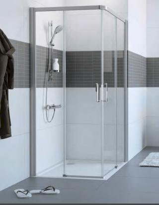 Sprchové dveře 75x200 cm levá Huppe Classics 2 chrom lesklý C25107.069.322 chrom chrom