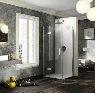 Sprchové dveře 75x200 cm levá Huppe Solva pure chrom lesklý ST0606.092.322 chrom chrom