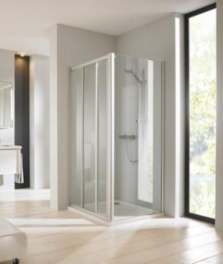 Sprchové dveře 80 cm Huppe Next SIKONEXTD380STE100 chrom
