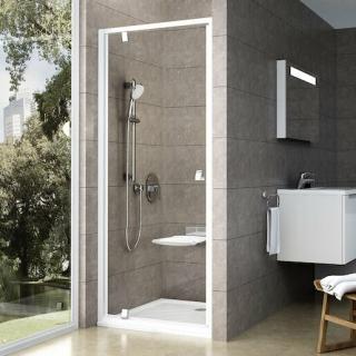 Sprchové dveře 80x190 cm Ravak Pivot bílá 03G40100Z1