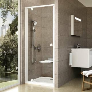 Sprchové dveře 80x190 cm Ravak Pivot bílá 03G40101Z1