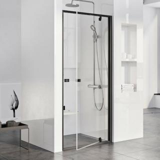 Sprchové dveře 80x190 cm Ravak Pivot černá 03G40300Z1