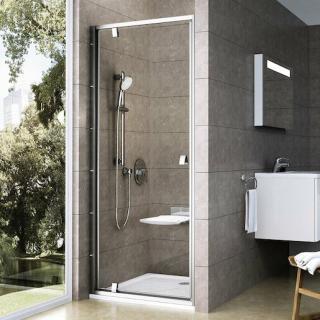 Sprchové dveře 80x190 cm Ravak Pivot chrom matný 03G40U00Z1 satin