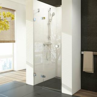Sprchové dveře 80x195 cm levá Ravak Brilliant chrom lesklý 0UL4AA00Z1