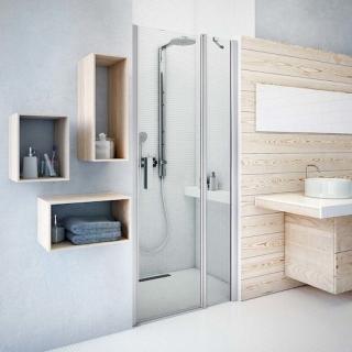Sprchové dveře 80x201,9 cm Roth Tower Line chrom lesklý 726-8000000-00-02 Brillant
