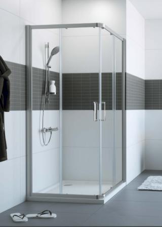 Sprchové dveře 80x80x200 cm Huppe Classics 2 chrom lesklý C20106.069.322 chrom chrom