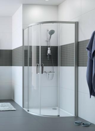 Sprchové dveře 80x80x200 cm Huppe Classics 2 chrom lesklý C20611.069.322 chrom chrom