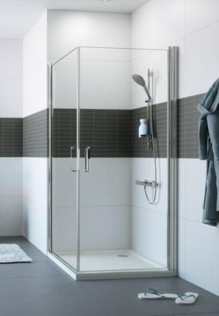 Sprchové dveře 80x80x200 cm Huppe Classics 2 chrom lesklý C23304.069.322 chrom chrom