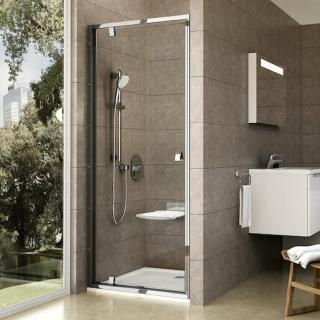 Sprchové dveře 90x190 cm Ravak Pivot chrom lesklý 03G70C00Z1