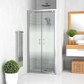 Sprchové dveře 90x190 cm Roth Lega Line chrom lesklý 552-9000000-00-21 Brillant