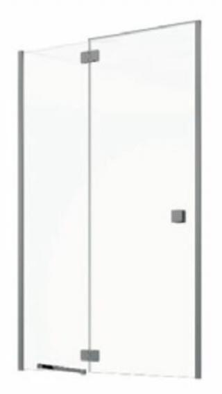 Sprchové dveře 90x195 cm levá Jika Pure chrom lesklý H2544220026681 lesklá stříbrná