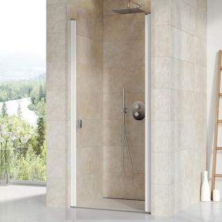 Sprchové dveře 90x195 cm Ravak Chrome bílá 0QV70100Z1